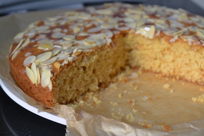 Honig-Mandel-Kuchen