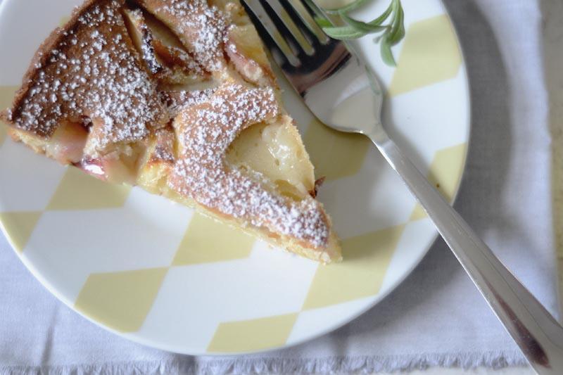 zitronen-pfirsich-kuchen
