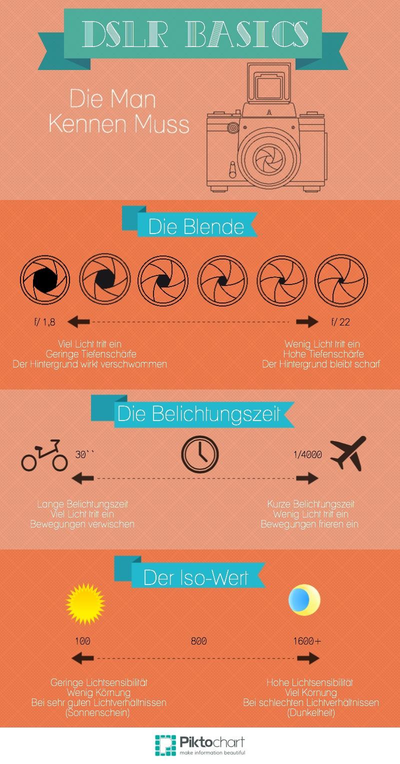 DSLR Basics infographic