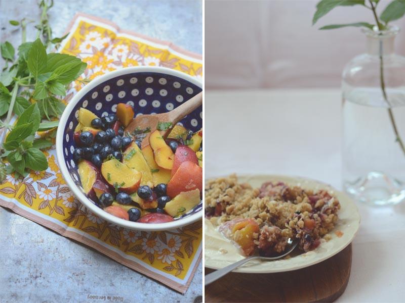 pfirsich blaubeer crumble 3