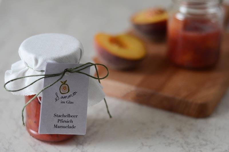 pfirsich stachelbeer marmelade 4