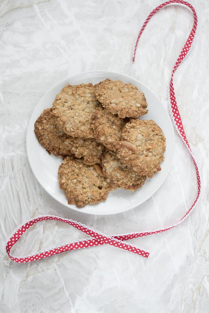 coconut oat cookies 2