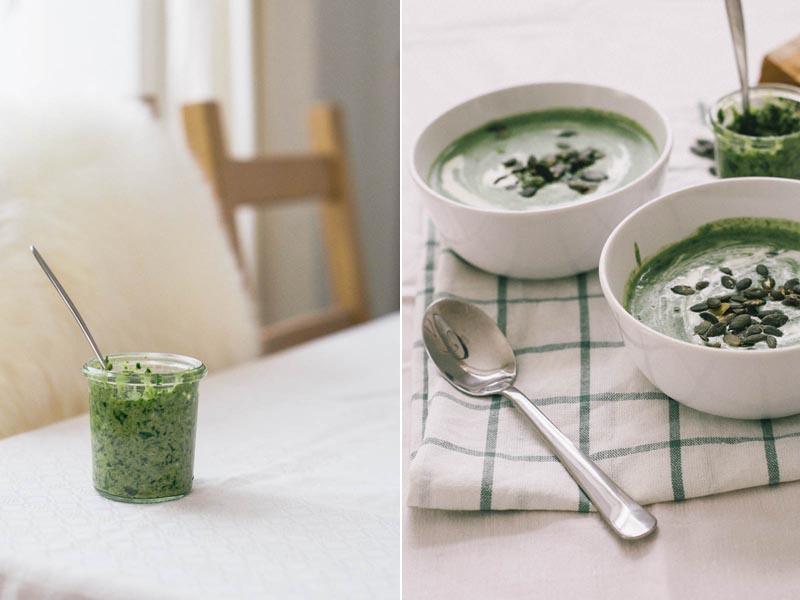 kartoffel-spinat-suppe mit bärlauchpesto 2